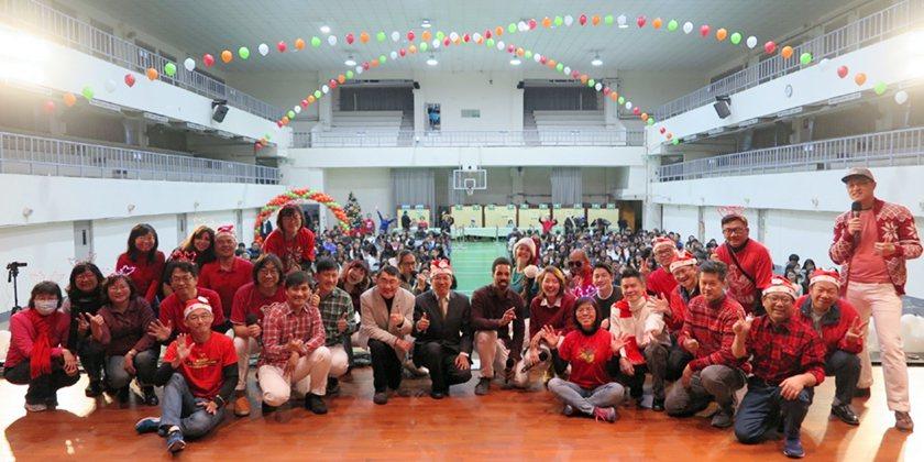 2019感恩聖誕在中國科大,師生一同歡慶節日。 中國科大/提供