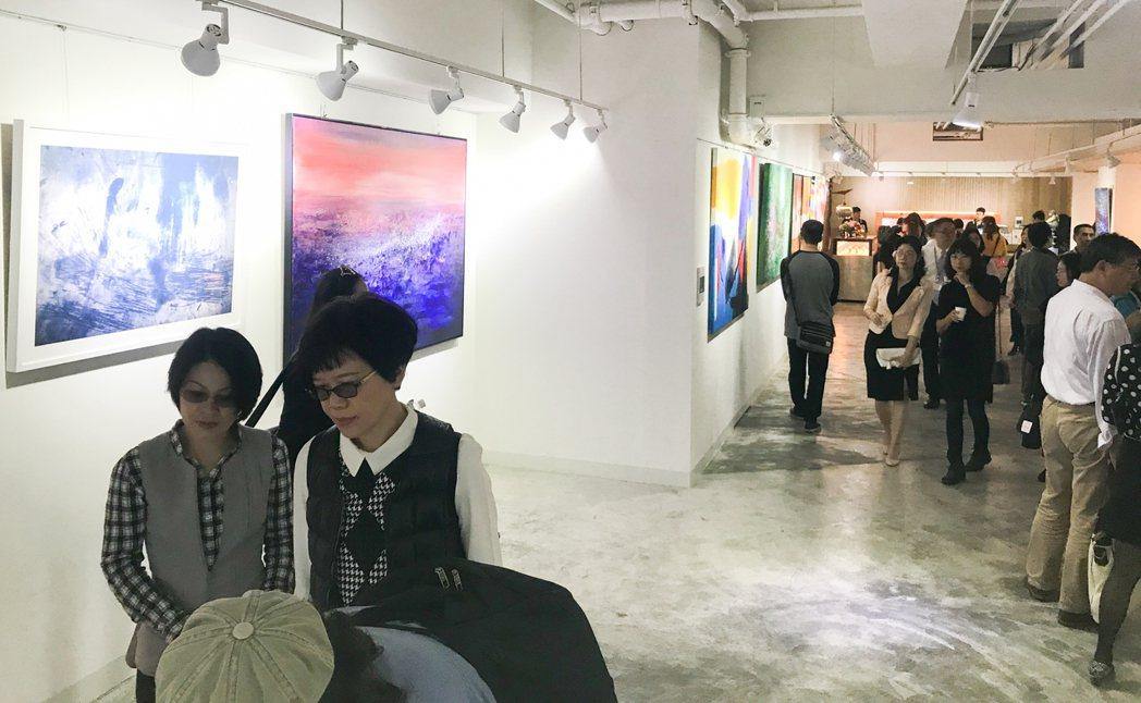 「義來藝去藝術中心」空間近百坪。 攝影/張世雅