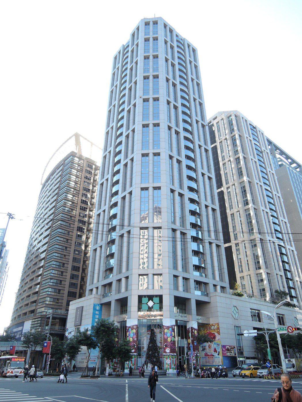 新北市板橋板信大樓第11度蟬聯地王,地價每坪約235萬元,比起地價最低的烏來福山...