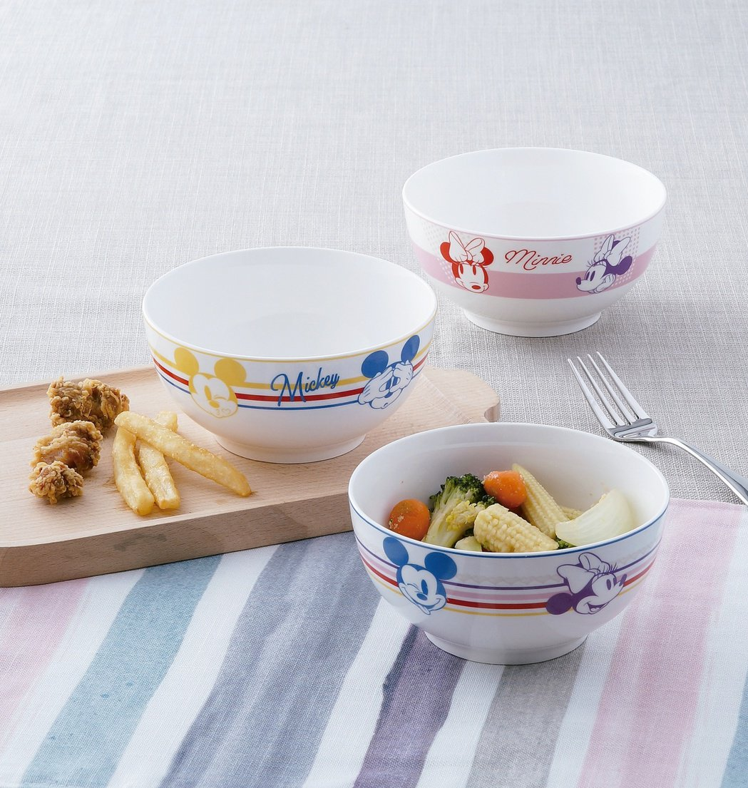 HOLA迪士尼系列米奇餐碗3入組,原價699元、特價499元。圖/HOLA提供