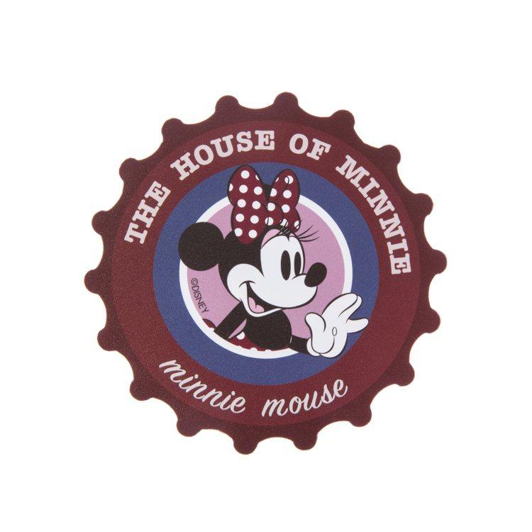 HOLA迪士尼系列杯墊,原價99元、特價買1送1,共有米奇、米妮兩款。圖/HOL...