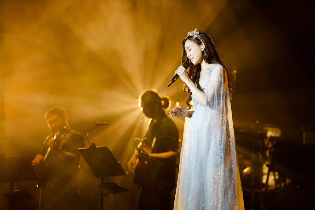 范瑋琪歷時32個月,舉行23場「在幸福的路上」世界巡演。圖/黑天使提供