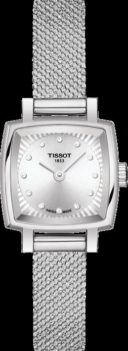 天梭表Lovely Square臻愛系列腕表,不鏽鋼表殼、表鍊,鑽石時標,約10...