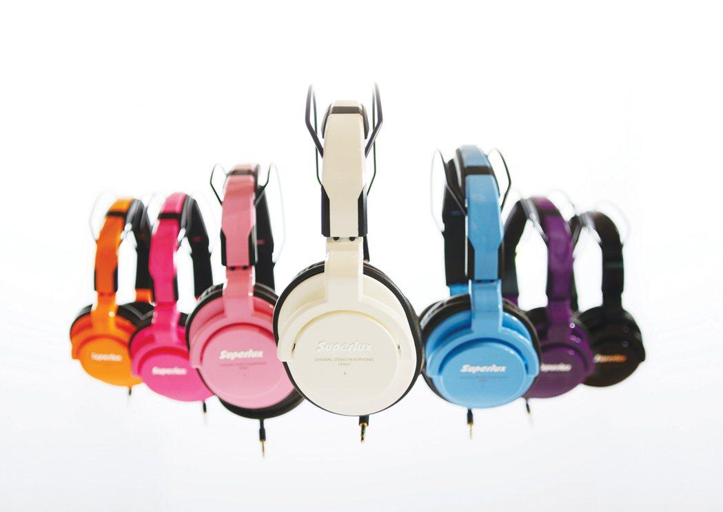 舒伯樂Superlux HD661耳機(圖/廠商提供)