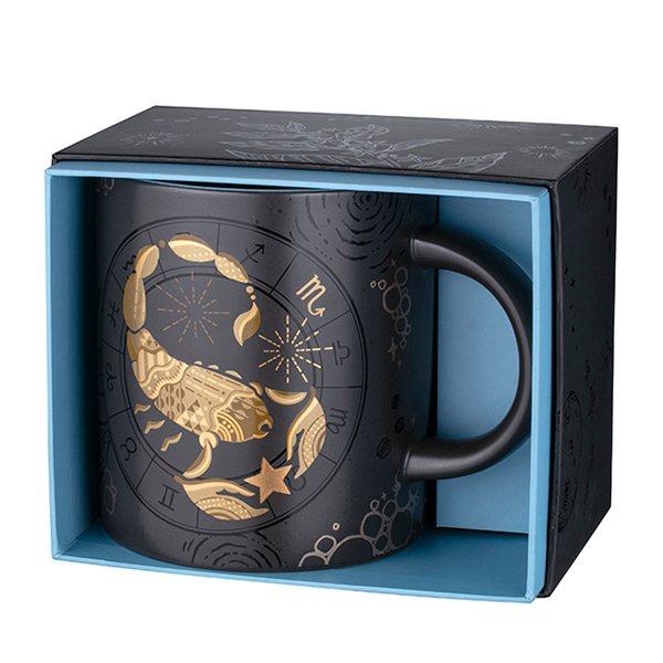 「天蠍星座馬克杯」預計2020年10月上市,售價750元/16OZ。圖/星巴克提...