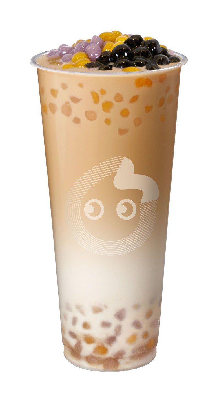 「3Q奶茶」以多重口感驚艷品飲者味蕾。圖/CoCo提供