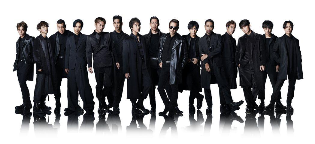 日本天團放浪兄弟將來台參加「紅白」。圖/台視提供