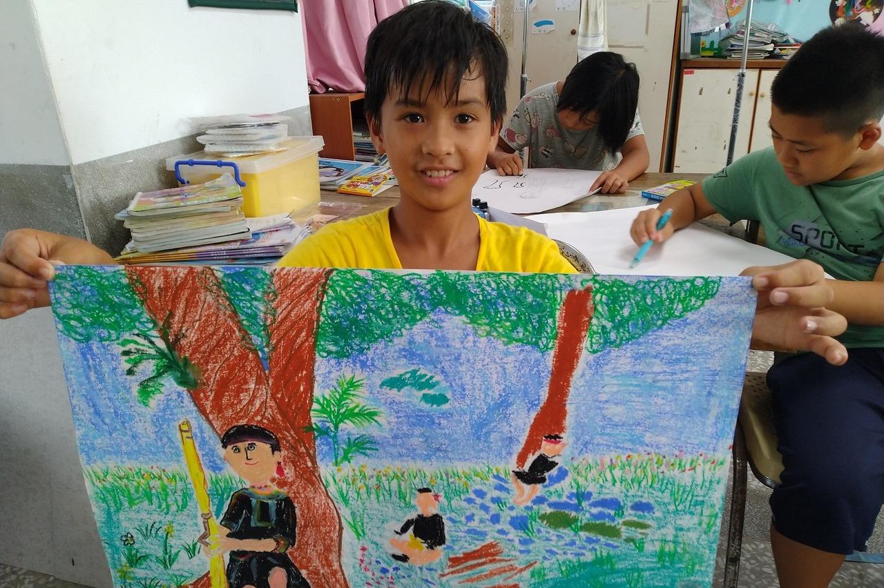 願景/美學從「小」培養 10所偏鄉獲法藍瓷藝術基金