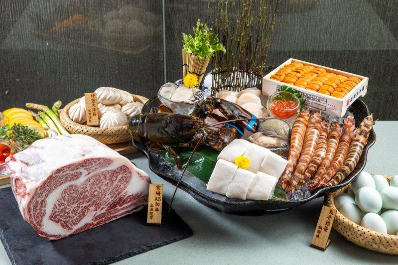 大方養生鐵板燒是台北知名鐵板燒餐廳。圖/擷取自大方養生鐵板燒粉頁