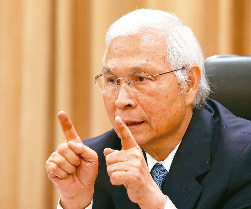中央銀行總裁楊金龍。 記者林澔一/攝影