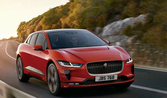 2019世界年度風雲車由Jaguar I-Pace純電跨界跑車型SUV獲得。 圖...
