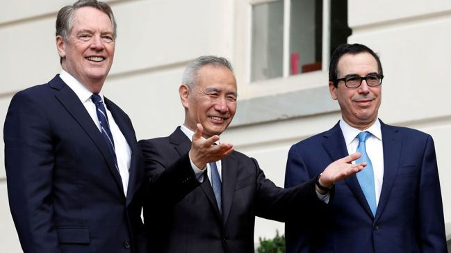 伊爾艾朗認為,美中「第一階段」貿易協議,非常可能只是下一波緊張的前奏。圖為中國大...