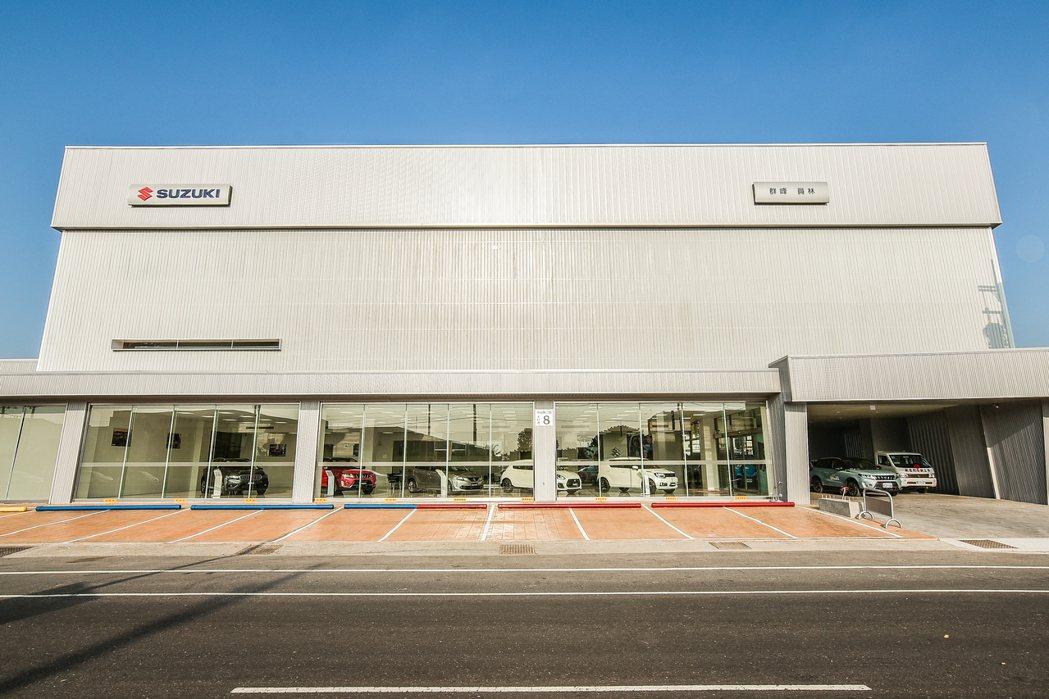 SUZUKI 群峰車業全新4S員林旗艦店外觀。 圖/SUZUKI提供