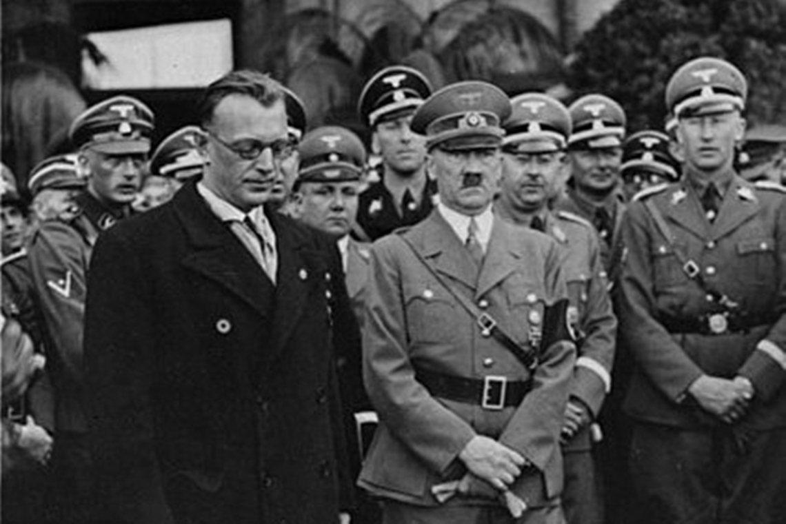納粹高官的生死遺緒至今依然是德奧敏感而微妙的存在。圖左至右依序為:奧地利納粹首腦...