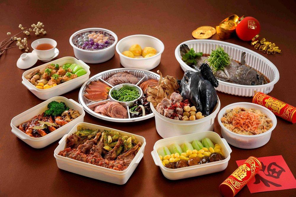 高雄國賓飯店粵菜廳-5人份桌菜 高雄國賓飯店/提供