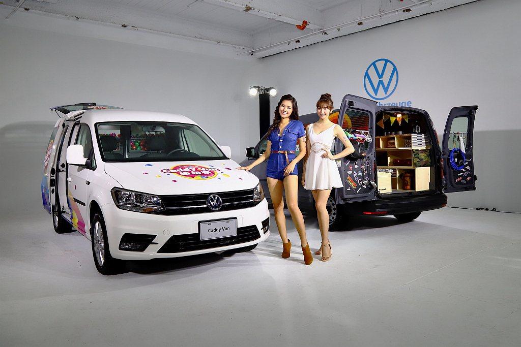 福斯商旅台灣公布車展兩輛獨特的概念車。 記者張振群/攝影