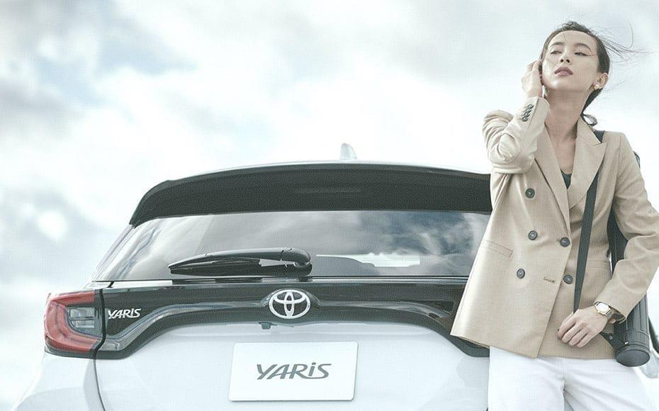 第四代Toyota Yaris首度擁有四輪驅動系統的配置。 摘自Toyota