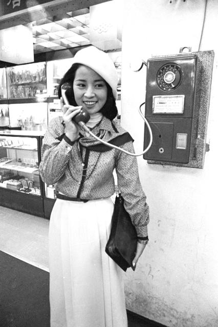 林鳳嬌為拍攝《風鈴風鈴》,越洋到新加坡出外景。 圖/聯合報系資料照