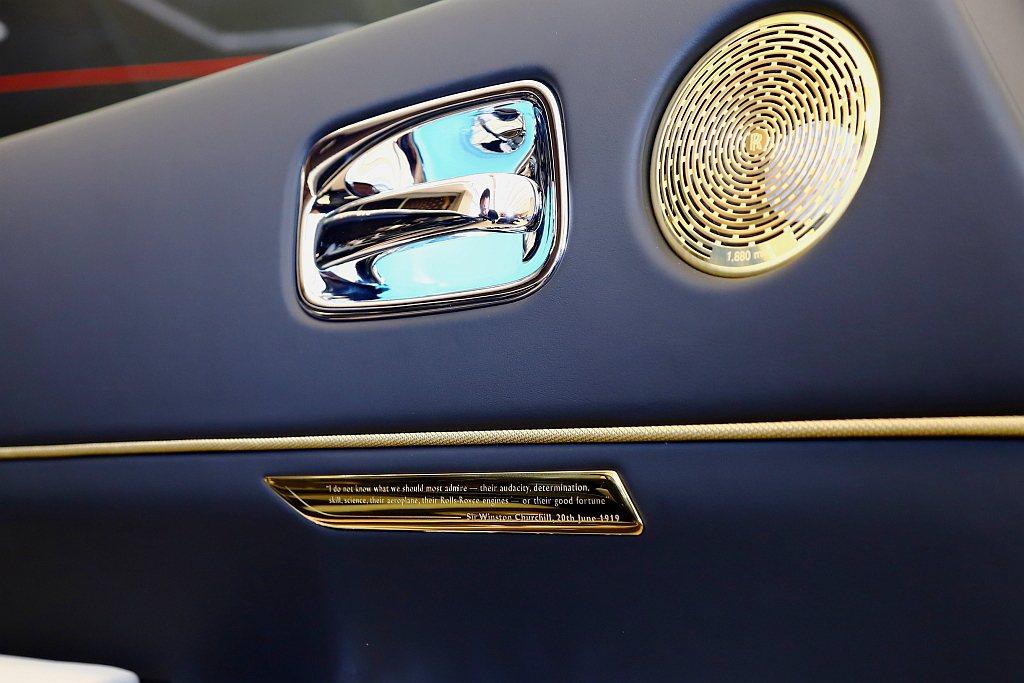 音響揚聲器材質選用個黃銅材料,外蓋刻印著1,880miles字樣,代表John ...