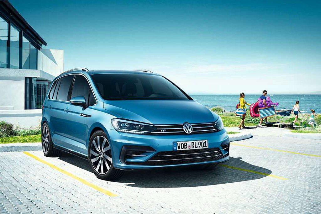 福斯台灣宣布Touran年終車展優惠價限時限量發售。 圖/台灣福斯提供