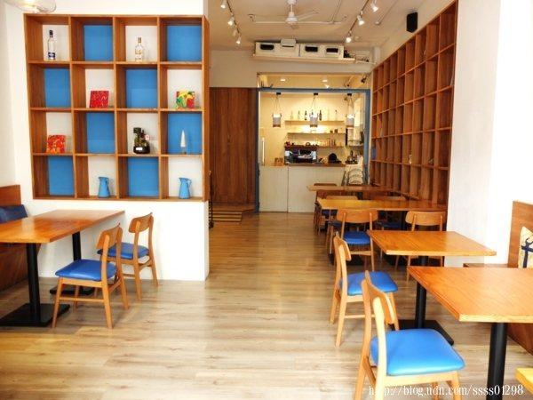 主打地中海主題風格的「努逗風味館(嘉義店)」,餐廳店裡想必是非常的美!