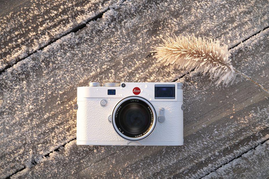 徠卡M10–P白色版,純白設計超夢幻。圖/徠卡相機提供