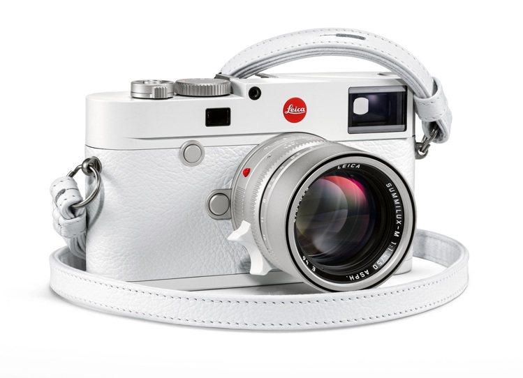 徠卡M10–P白色版套裝組,全球限量350套。圖/徠卡相機提供