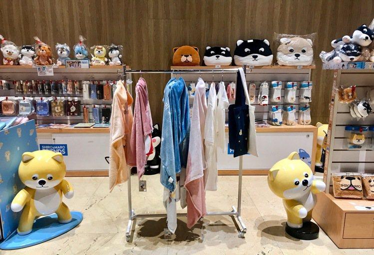「SHIRO&MARO」快閃專賣店。記者江佩君/攝影