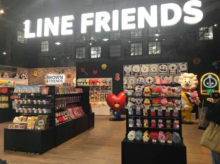 「LINE FRIENDS潮玩限定店」12月21日至2020年2月9日在台北華山...