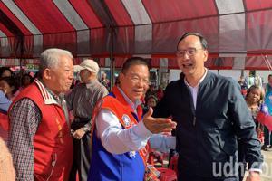 朱立倫台南輔選 藍、綠立委候選人因這事互批