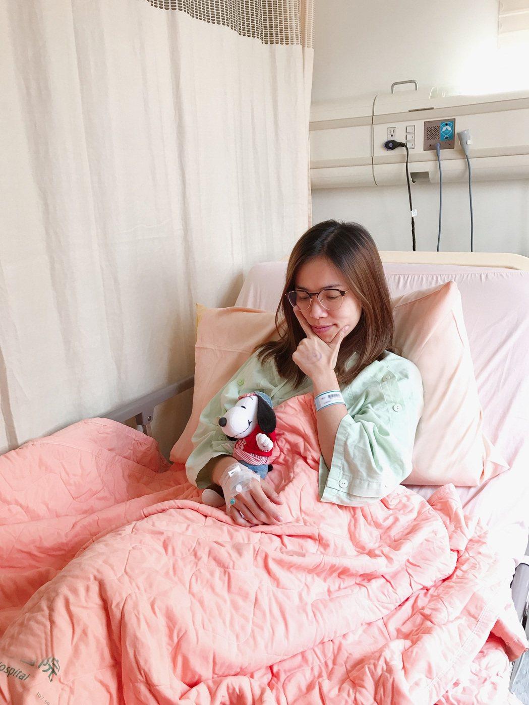 林芯儀受失聲之苦,經手術治療需噤聲3周。圖/解碼音樂