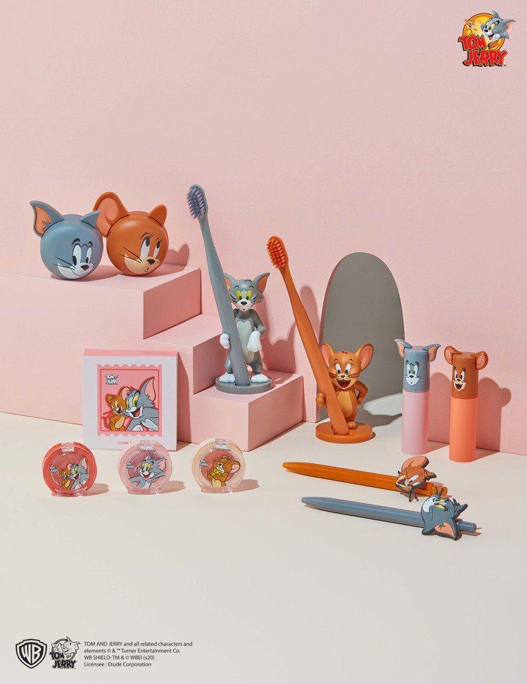 ETUDE HOUSE「LUCKY TOGETHER」聯名系列特別設計了湯姆貓與...