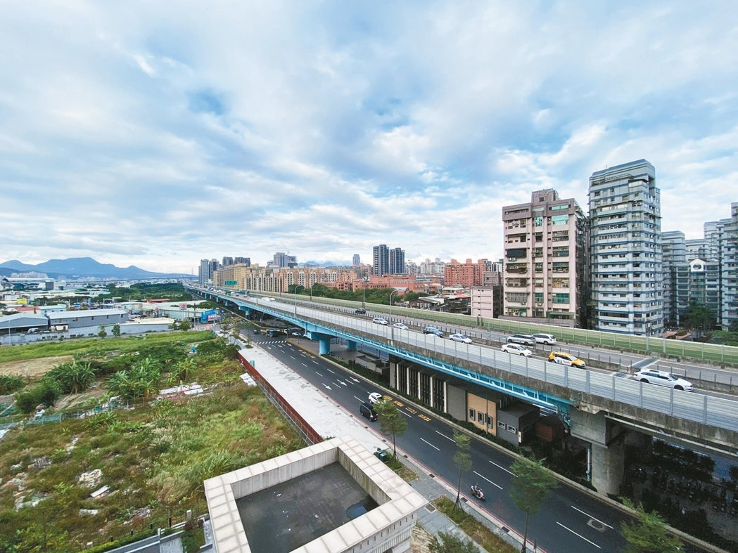 塭仔圳重畫區明年可望成為新莊、甚至大台北推案一級戰區。 圖/科達機構提供