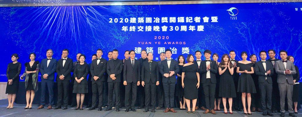 2020年建築園冶獎執行團隊。 攝影/張世雅
