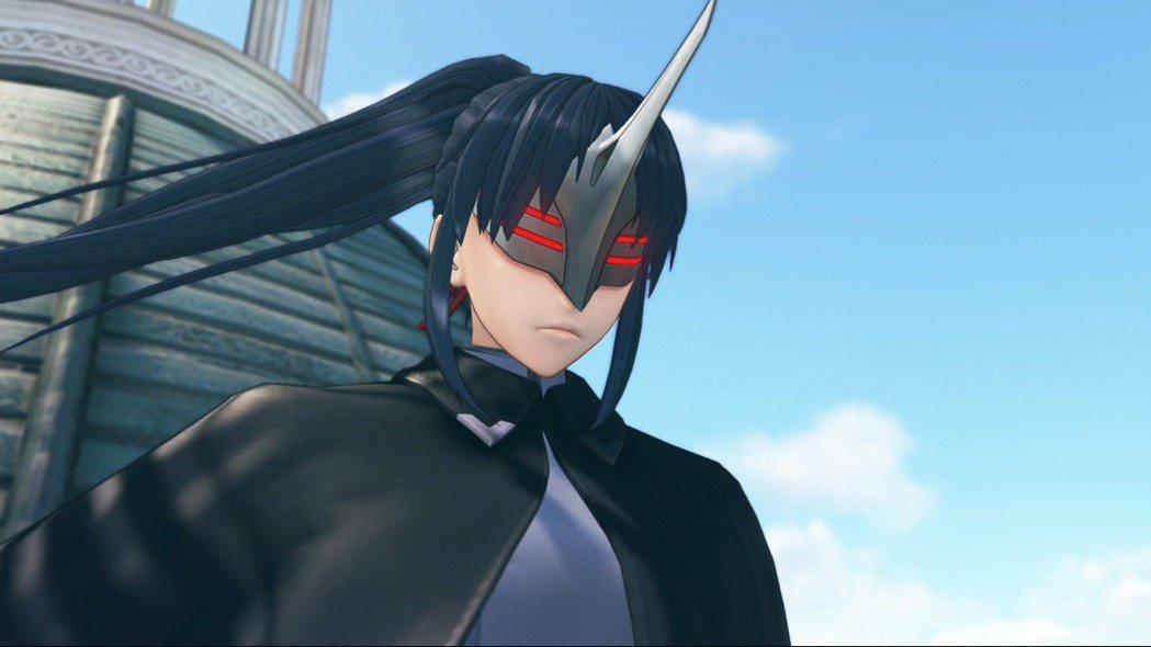 在遊戲的前期出現的神秘黑衣女子,戴著面具的感覺讓人有點感到不尋常,但那一頭長髮....