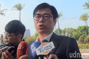 影/陳其邁:韓國瑜市長顯然把權力擺第一順位