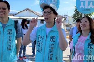 挺韓<u>罷韓</u>下午登場 蔡壁如:這是台灣可愛的地方