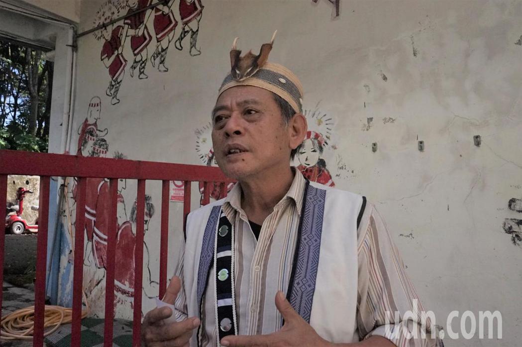 花蓮縣噶瑪蘭族發展協會理事長潘朝成,也是無法復名的噶瑪蘭族人。記者王燕華/攝影