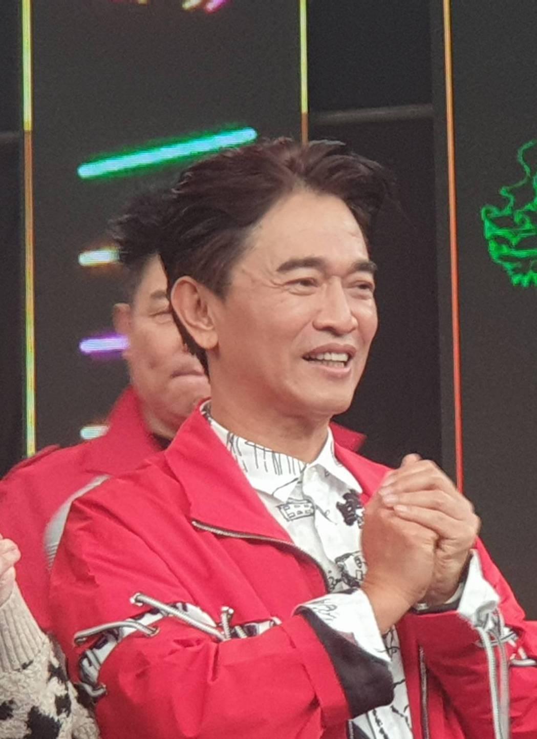 吳宗憲今天錄除夕特別節目。記者李姿瑩/攝影