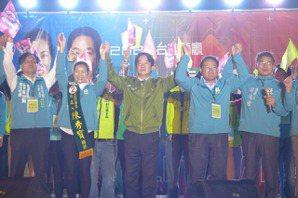賴清德為陳秀寶站台 強調台灣不能變成第二個香港