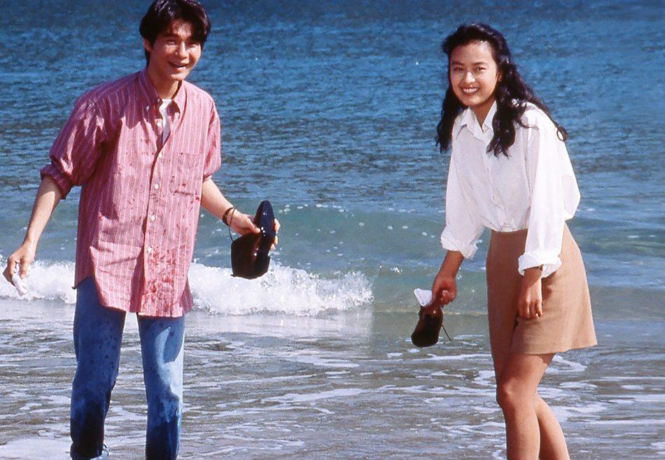 後藤久美子年輕時與吉岡秀隆合演「寅次郎的青春」。圖/摘自cinemaclassi...