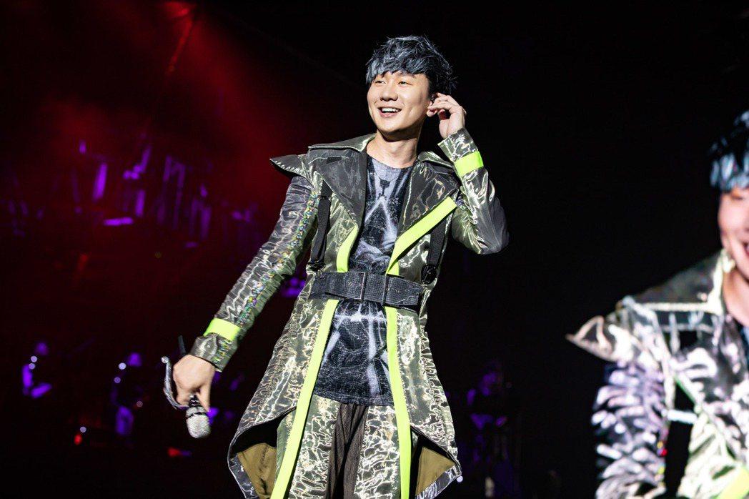林俊傑21日返場老家新加坡開唱。圖/JFJ Productions提供