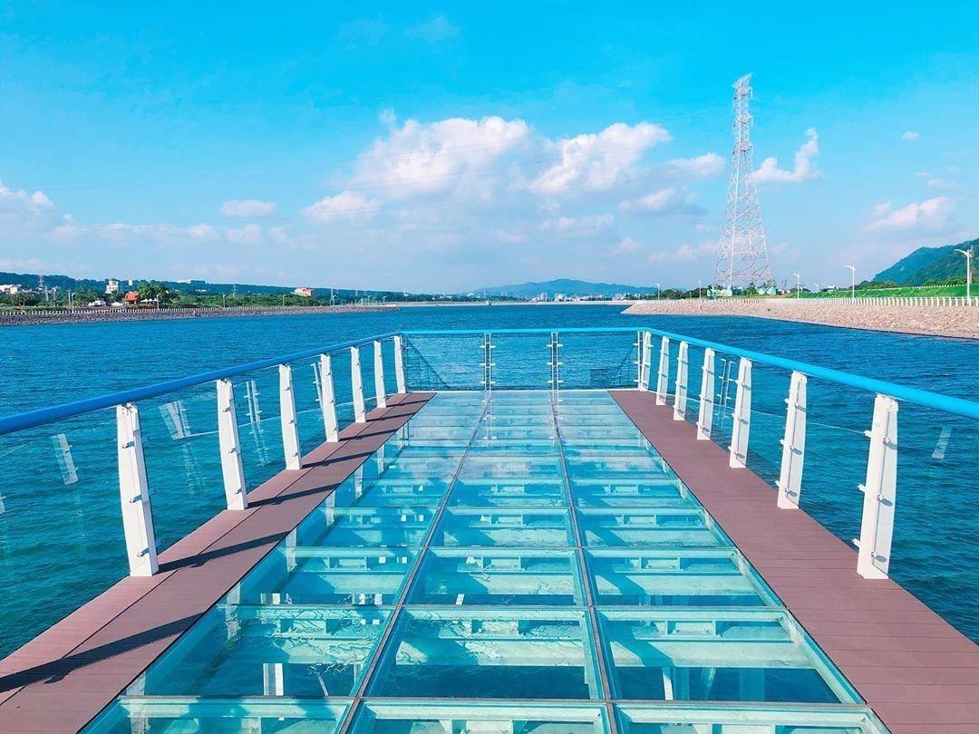 大溪玻璃棧道明年1月開放可登橋。圖/網友as2524164授權提供