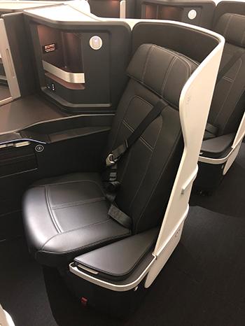 商務艙座位有18席。圖/摘自ZIPAIR Tokyo官網