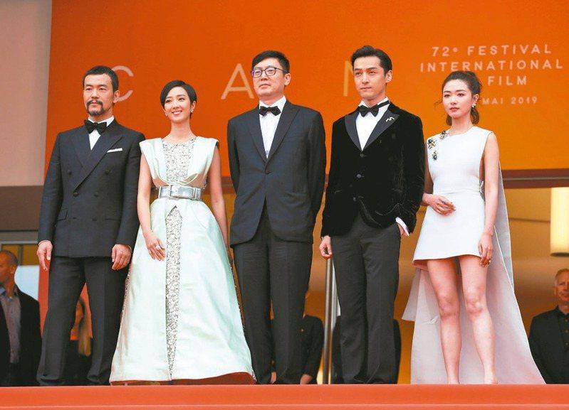 電影「南方車站的聚會」入圍今年坎城影展競賽片。 新華社資料照片