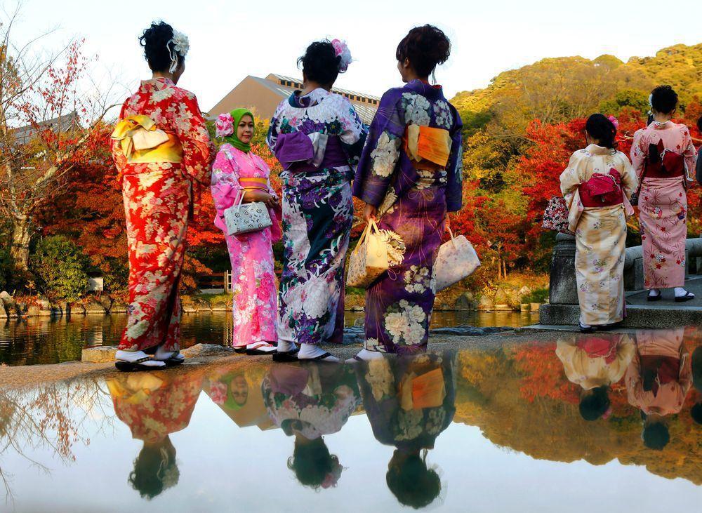 日本觀光廳估計,今年1月赴日旅遊的外國遊客再創新高,接近269萬人。(路透)