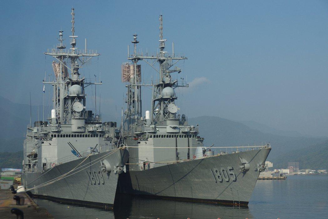 國軍的紀德(基隆)級驅逐艦,滿載排水量超過9000噸,大小等於二次大戰的巡洋艦。...