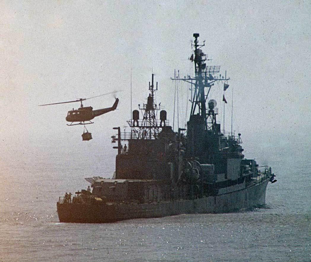 國軍早年的陽字號驅逐艦,是二次大戰期間下水,排水量約3000噸,若以如今標準,這...