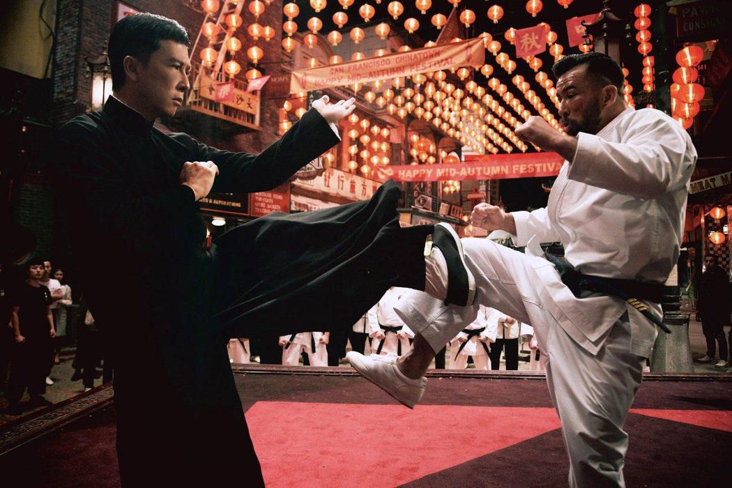甄子丹多次強調「葉問4:完結篇」是他最後一部功夫片,之後想多拍喜劇。圖/華映提供