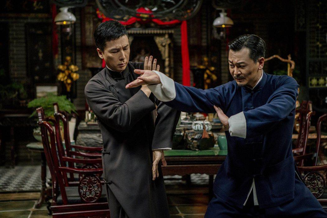 甄子丹、吳樾在「葉問4:完結篇」有非常精彩的打戲。圖/華映提供